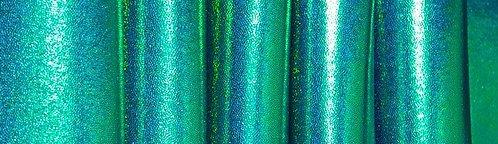 Mystic Blue Kelly Green Foil