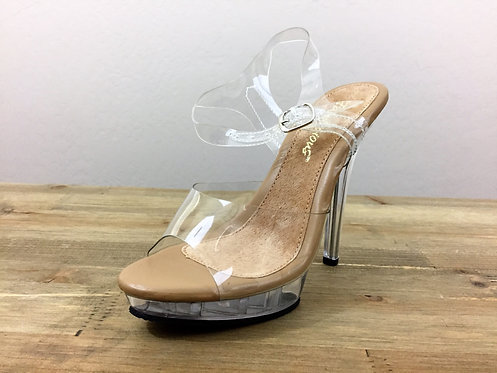 """5"""" T-Strap Competition Posing Shoe"""