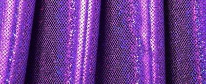 Micro Dot Purple Hologram