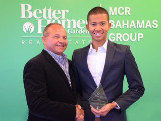 Timothy Smith, 24, Named Top Rookie Producer At BHGRE MCR Bahamas Group