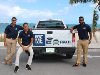 Young men take road to success with EZ Haul truck rental business