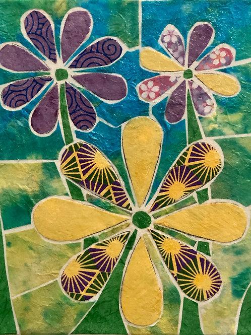 painting: flower power