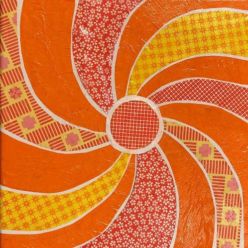 painting: the joy of a pinwheel