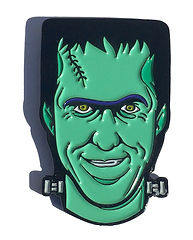 Herman Munster frm the hit tv show The Munsters enamel pin