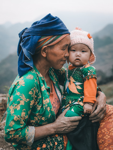 Amour maternel - Vietnam