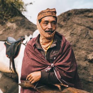Cavalier du Bromo - Indonésie