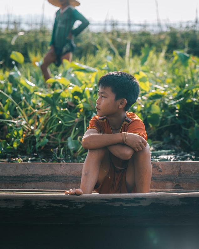 Jeune garçon - Myanmar