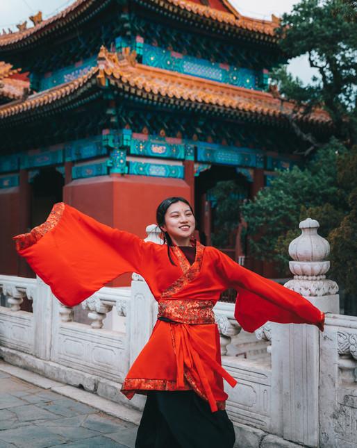 Danseuse - Chine