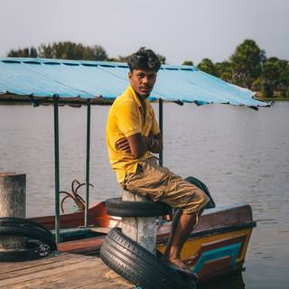 Jeune pêcheur - Sri Lanka