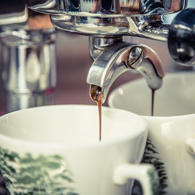 Espresso läuft, kommt vorbei.....