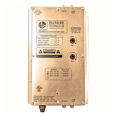 BIDA 750-30 Broadband Distribution Amplifier Module