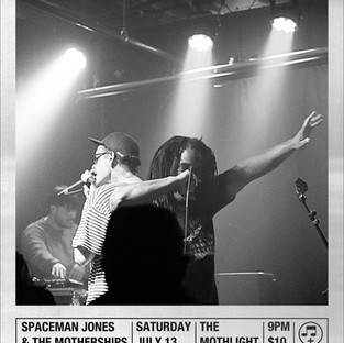 Spaceman Jones and The Motherships at Mo