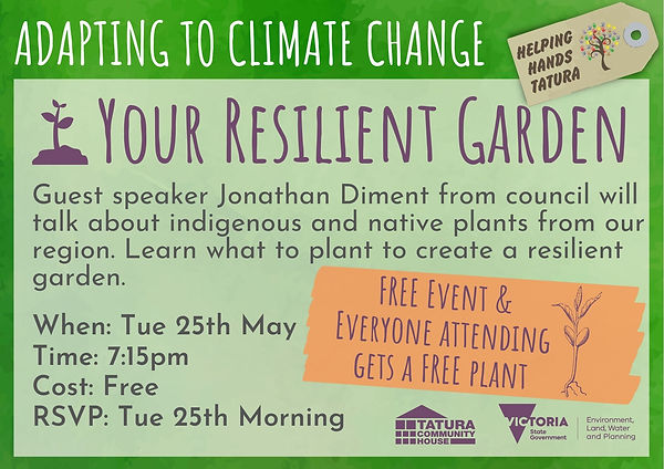 Resilient Garden - Plants that will tole