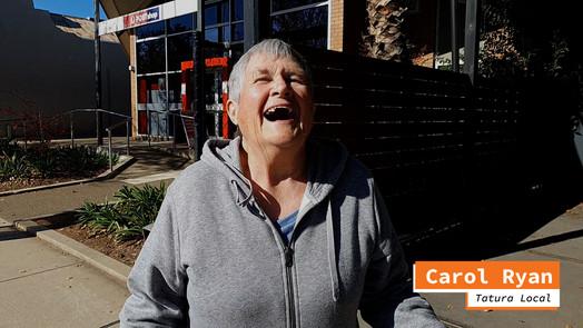 Helping Hands # 5 - A chat in Hogan Street - Carol Ryan