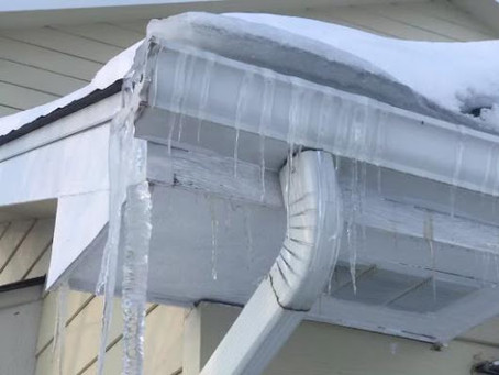 Repost - Ice Damming - What is it? How to prevent it.
