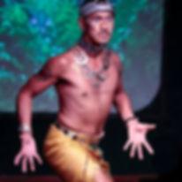 Sound healer's sacred dancer Joel Suarez