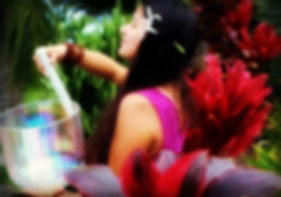 International performing artist Prema Love gives the Maui sound healing experience the potency of the divine feminine