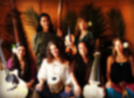 Maui sound healers with Rasa Priya, Sarah Sparkles, Andrea Walls, PremaLove, Adesh Khalsa and Forest Hada