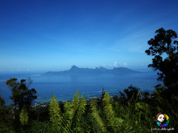 Moorea depuis le mont Marau