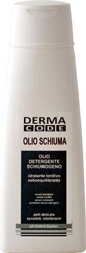 dermacode olio schiuma detergente