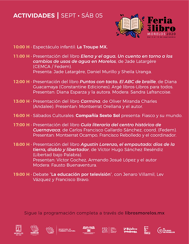 programa Feria Libro Morelos 2020_04.09-