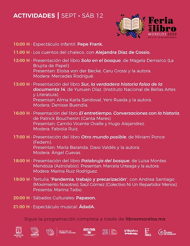 programa Feria Libro Morelos 2020_11.09_