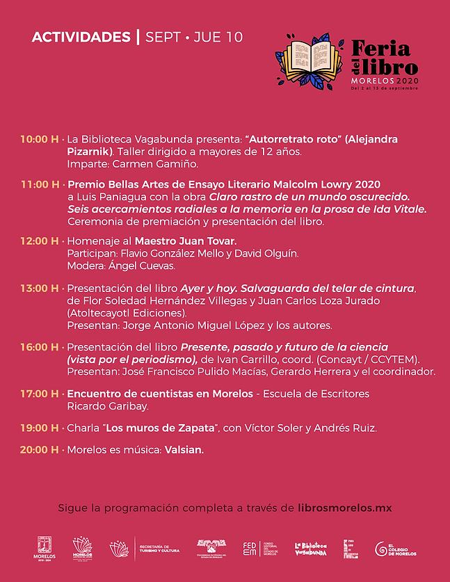programa Feria Libro Morelos 2020_-10-10