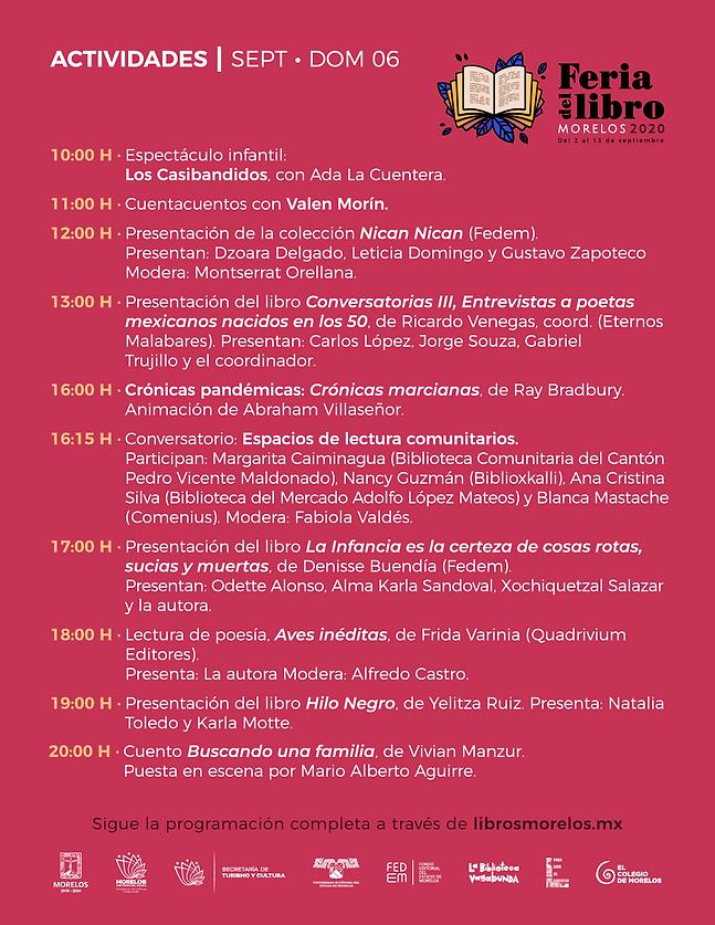 programa Feria Libro Morelos 2020_-06_06
