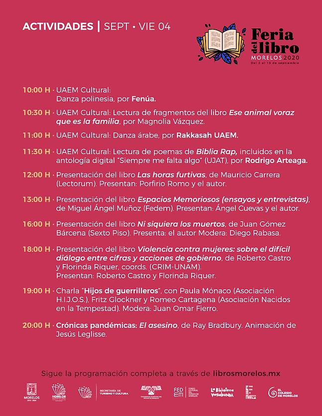 programa Feria Libro Morelos 2020_-04_03