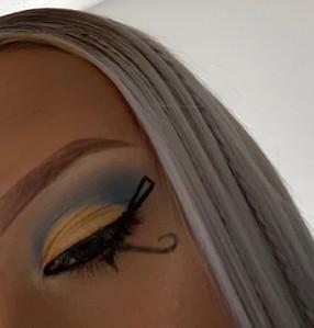 Egyptian Inspired Eye Makeup