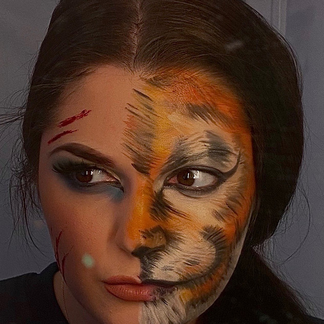Animal Character and Special Effects Makeup Practice