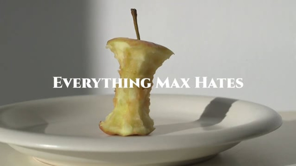 Everything Max Hates