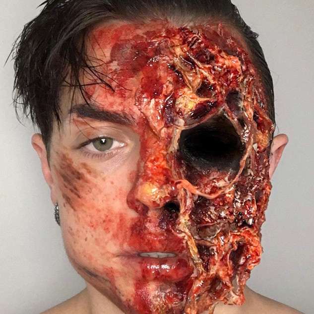 Special Effects Makeup for Phobia Event