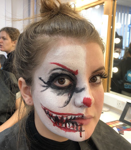 Scary Clown Makeup for Phobia