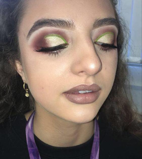 Glam Makeup Testing