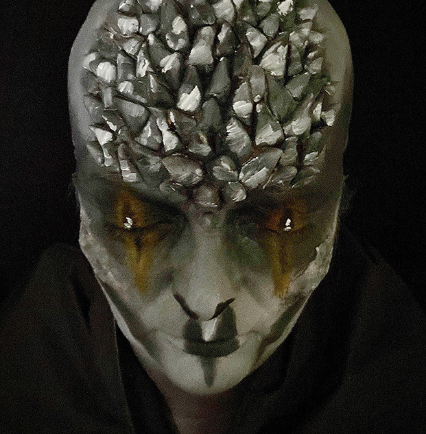 Dr Who Alien Character Makeup
