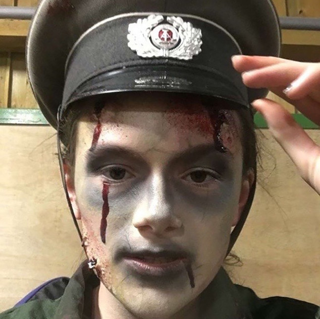 Special Effects Makeup Zombie Character