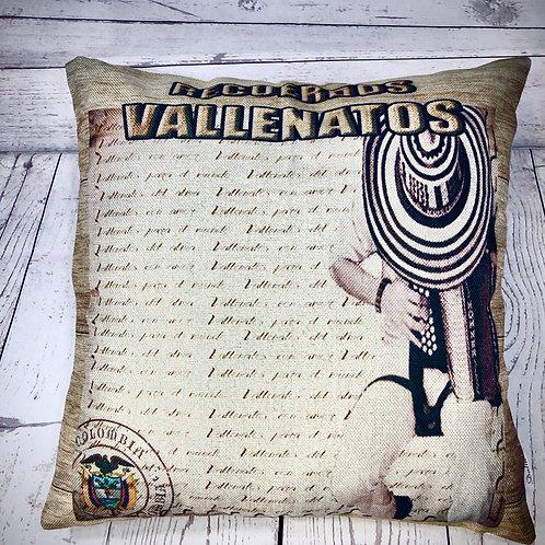 Recuerdos Vallenatos  Decorative Pillow Cover