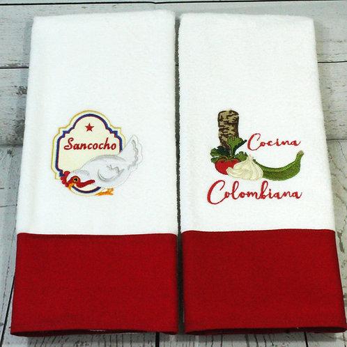 Sancocho Decorative Kitchen Towels