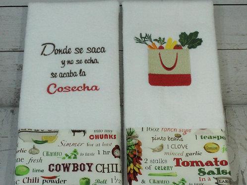 Cosecha Decorative Kitchen Towels