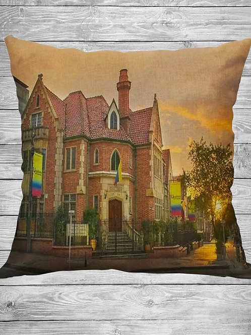 "La casa de Moreno de Caro ""Decorative Pillow Cover"