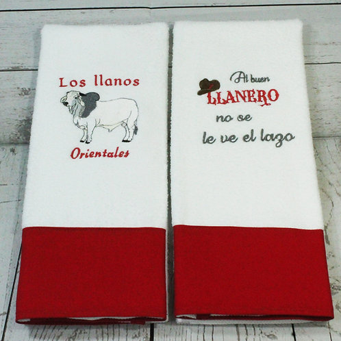 Los Llanos Orientales Decorative Kitchen Towels