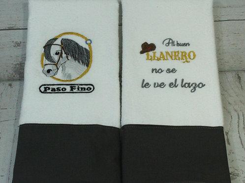 "Los Llanos Orientales ""Paso Fino"" Decorative Kitchen Towels"