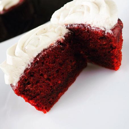 Blood Red Velvet Cake