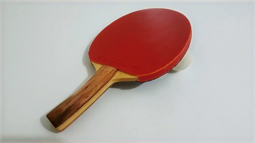 Handmade table tennis racket( Curved Handle )