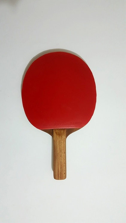Handmade table tennis racket
