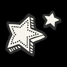 vystřihovánka Stars