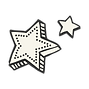 ausschnitt Sterne