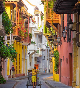 Cartagena Colombia Old Town