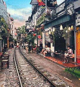 Hanoi Vietnam Railroad